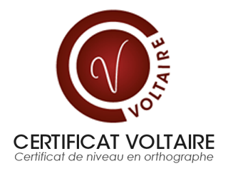 certification voltaire dossier